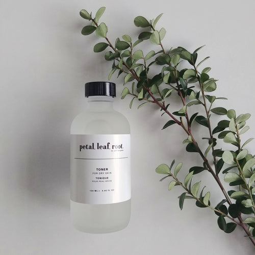 petal, leaf, root. by Just the Goods facial toner for dry skin