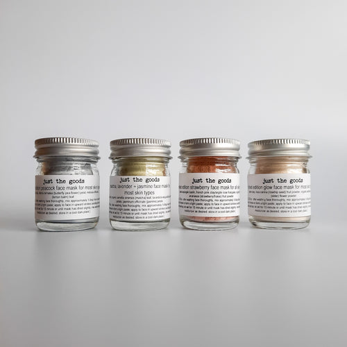 Just the Goods Limited Edition Face Mask Sampler Gift Set