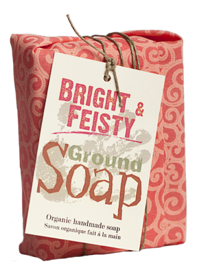 Ground Soap - Bright & Feisty - just the goods handmade vegan crueltyfree nontoxic skincare