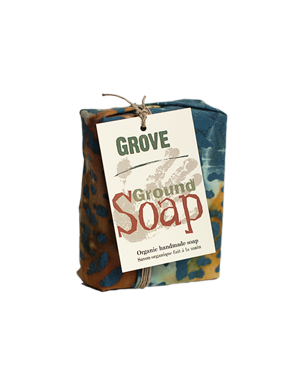 Ground Soap - Grove - just the goods handmade vegan crueltyfree nontoxic skincare