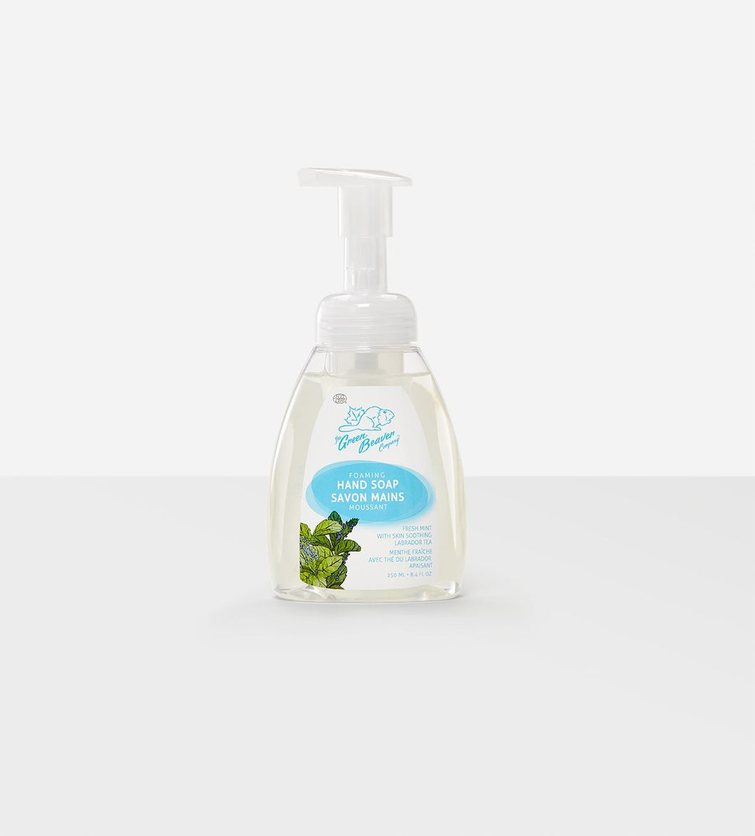 The Green Beaver Company Foaming Hand Soap - Fresh Mint