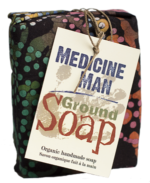Ground Soap - Medicine Man - just the goods handmade vegan crueltyfree nontoxic skincare