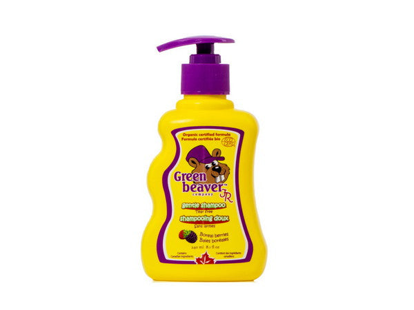The Green Beaver Company Kid's Gentle Shampoo - just the goods handmade vegan crueltyfree nontoxic skincare