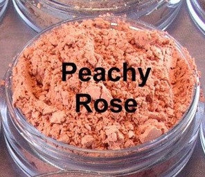 vegan blush by The All Natural Face in peachy rose (matte) - just the goods handmade vegan crueltyfree nontoxic skincare