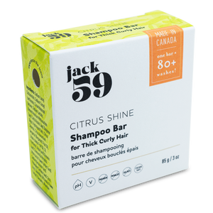 "Jack59 ""Citrus Shine"" Shampoo Bar"