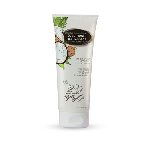 The Green Beaver Company Coconut Moisturizing Conditioner - just the goods handmade vegan crueltyfree nontoxic skincare