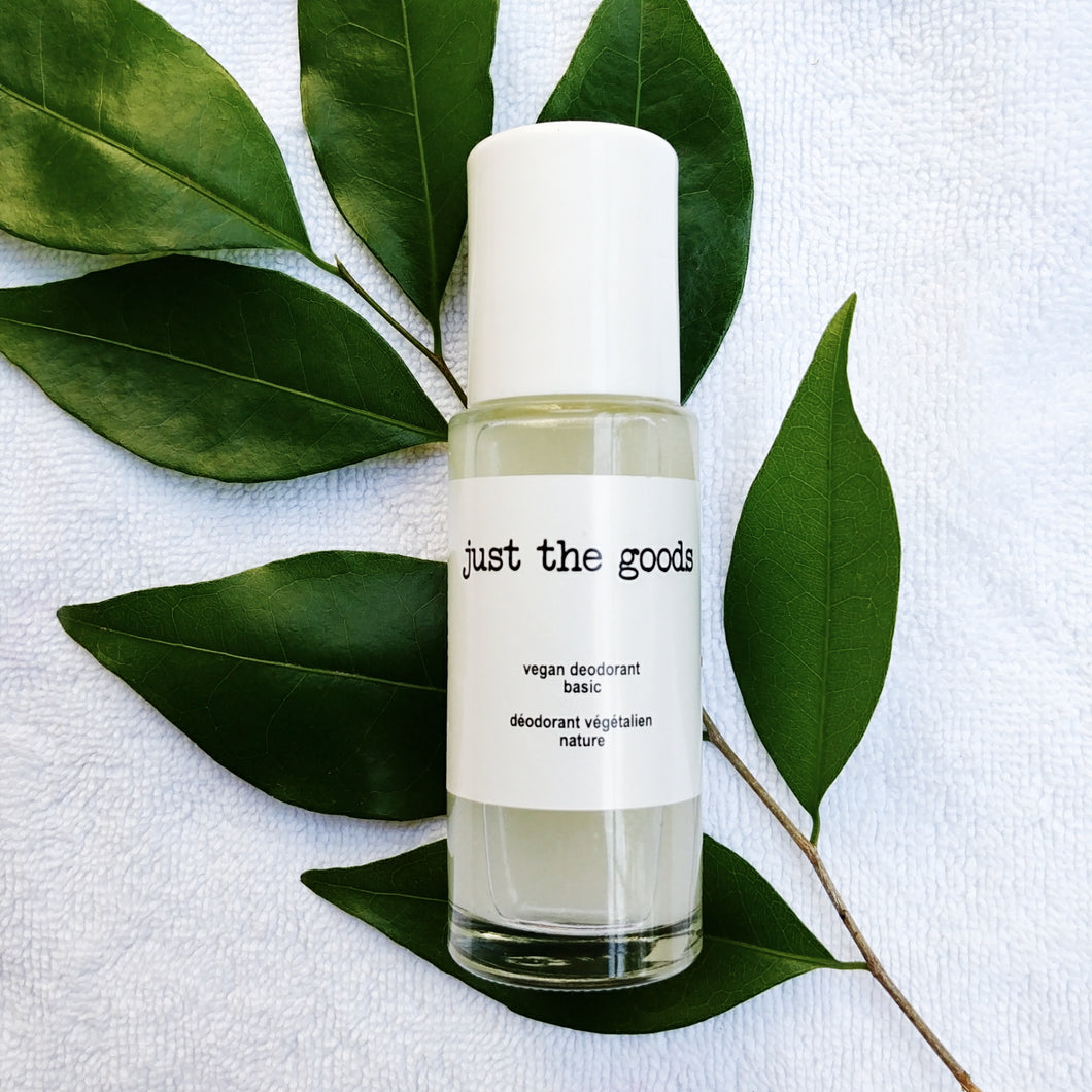 Just the Goods vegan deodorant