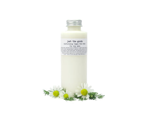 vegan face wash for dry skin