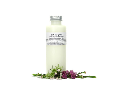 Just the Goods vegan facial moisturizer for oily/combination skin - just the goods handmade vegan crueltyfree nontoxic skincare