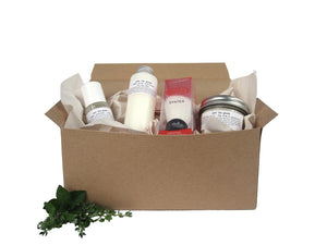 "Just the Goods ""Get up and Go"" kit - just the goods handmade vegan crueltyfree nontoxic skincare"