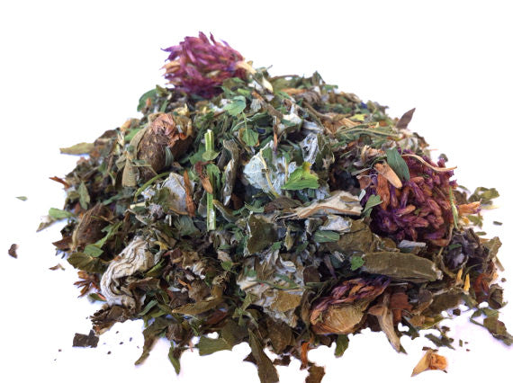 Urban Earth Teas blended organic herbal tea - Green Goddess