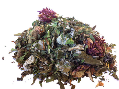 Urban Earth Teas blended organic herbal tea - Green Goddess - just the goods handmade vegan crueltyfree nontoxic skincare