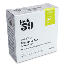 "Load image into Gallery viewer, Jack59 ""Jacked"" 4-in-1 Shampoo/Conditioner + Body Wash + Shaving Bar"