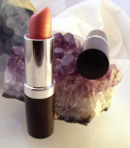 vegan lipstick by The All Natural Face in babydoll pink (shimmer) - just the goods handmade vegan crueltyfree nontoxic skincare