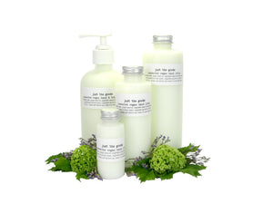 Just the Goods vegan unscented hand and body lotion - just the goods handmade vegan crueltyfree nontoxic skincare