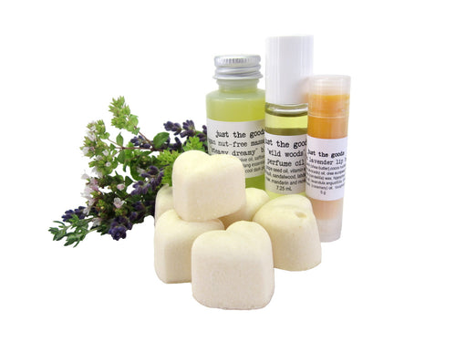 Just the Goods Lovers' Gift Set - just the goods handmade vegan crueltyfree nontoxic skincare