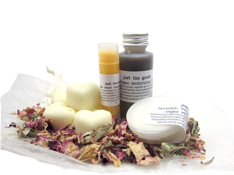vegan mini spa kit