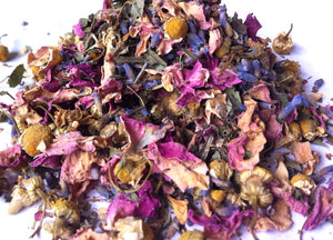 Urban Earth Teas blended organic herbal tea - Peace - just the goods handmade vegan crueltyfree nontoxic skincare