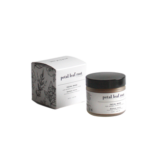 petal, leaf, root. by Just the Goods face mask for normal/sensitive skin