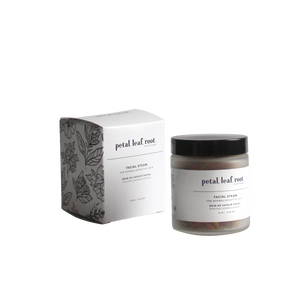 petal, leaf, root. by Just the Goods facial steam for normal/sensitive skin