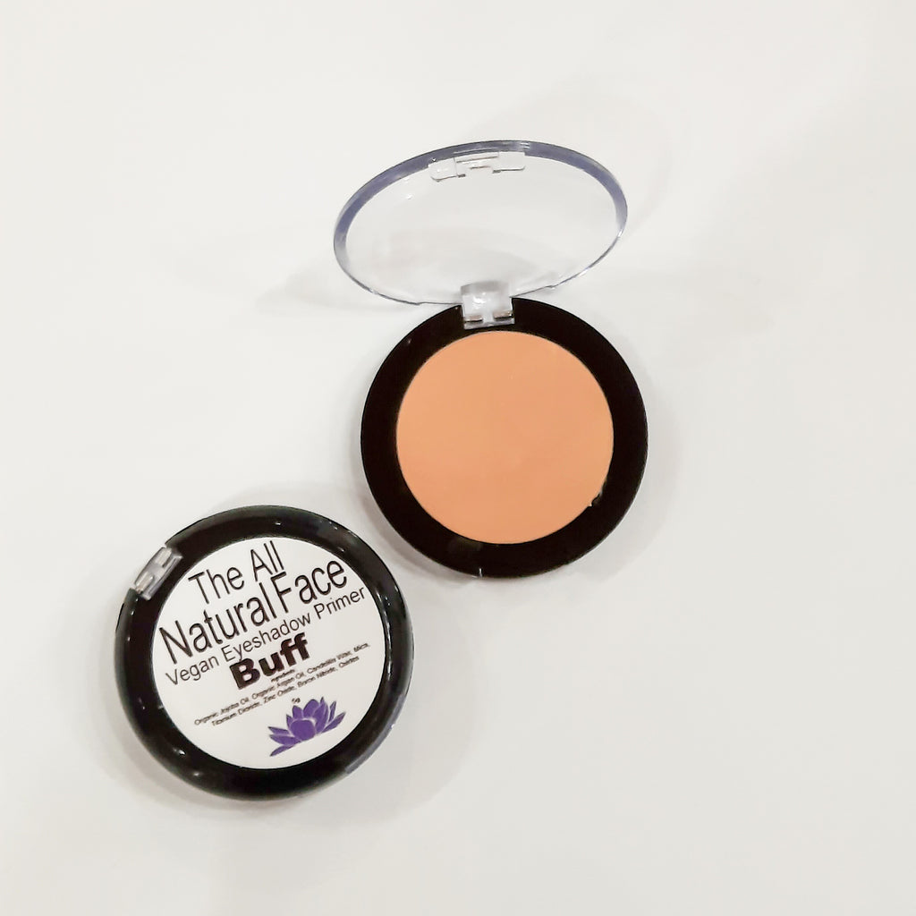 vegan eyeshadow primer by The All Natural Face in buff