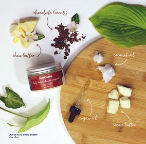 Kecara JustCocoa Hands & Body butter - Unscented