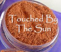 vegan bronzer by The All Natural Face in touched by the sun