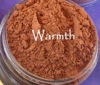 vegan bronzer by The All Natural Face in warmth satin - just the goods handmade vegan crueltyfree nontoxic skincare