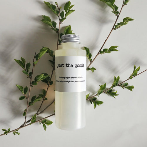 Just the Goods vegan facial toner for dry skin