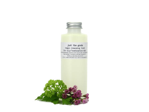 vegan facial toner for oily/combination skin