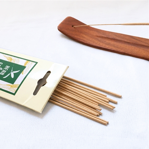 Herb & Earth Bamboo Incense - Cedar - just the goods handmade vegan crueltyfree nontoxic skincare