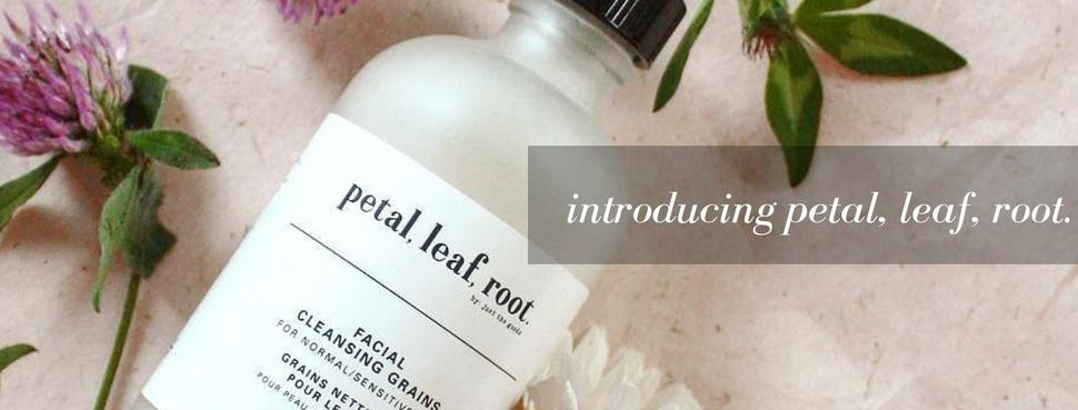 Introducing petal, leaf, root. by Just the Goods