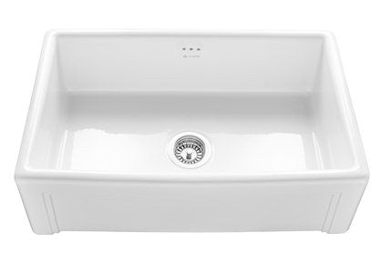 Caple Cpbs760 Belfast Ceramic Sit On Sink Atappliances