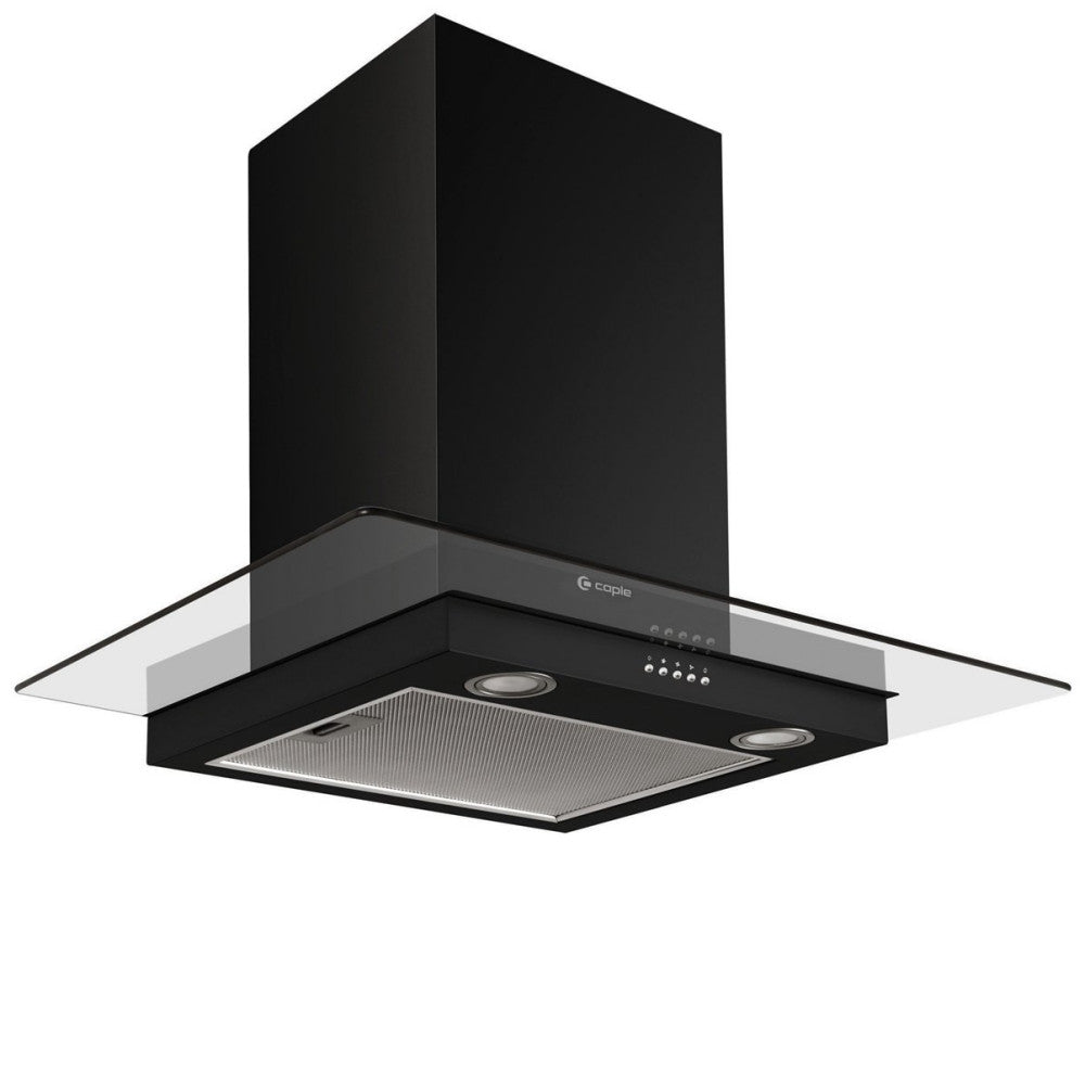 Caple Fgc720bk Wall Chimney Hood W 700mm Atappliances