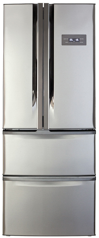 CDA   PC84SC American Style Two Door Fridge With Frost Free Two Drawer  Freezer