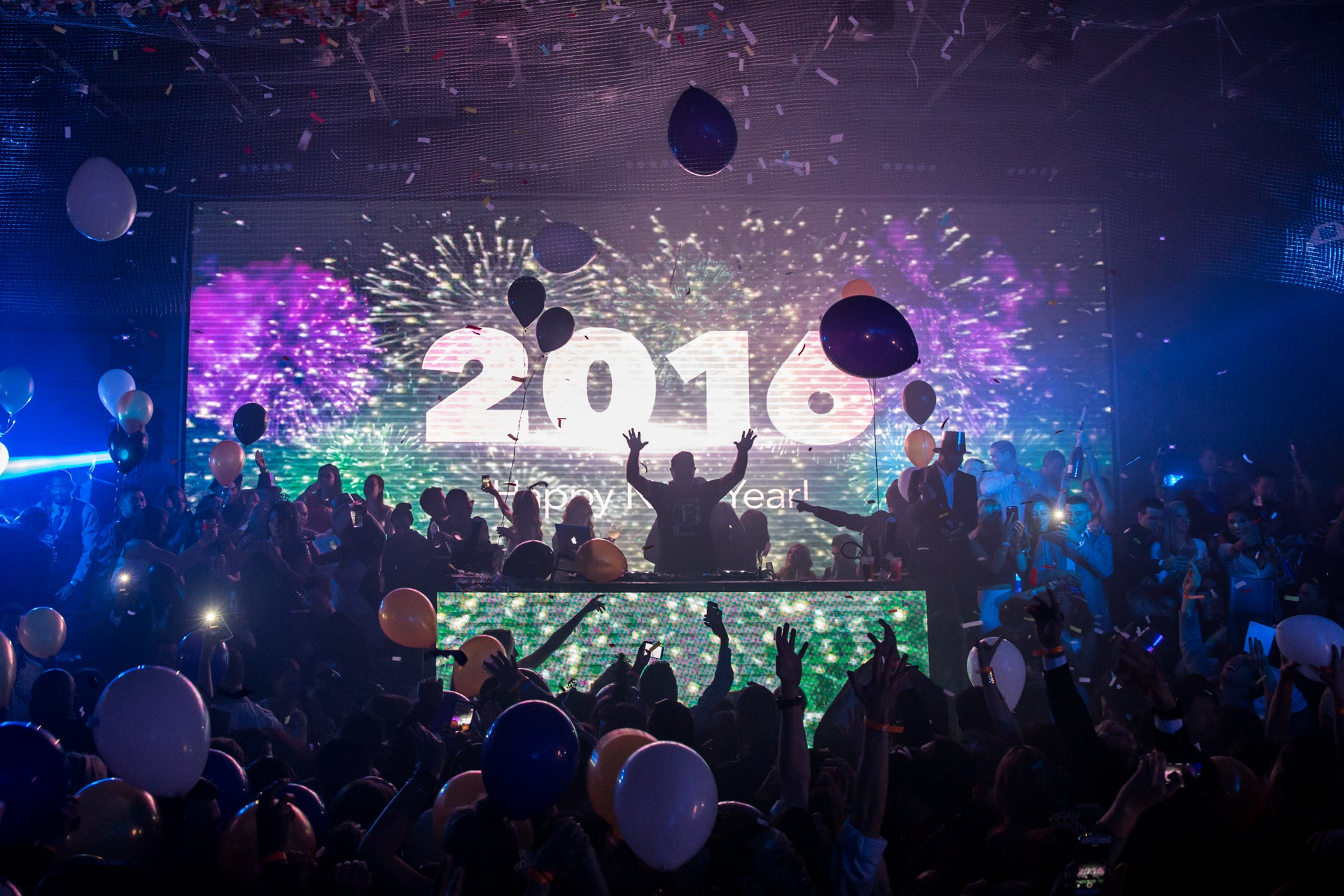 New Years Eve 2016 at Parq Restaurant & Nightclub