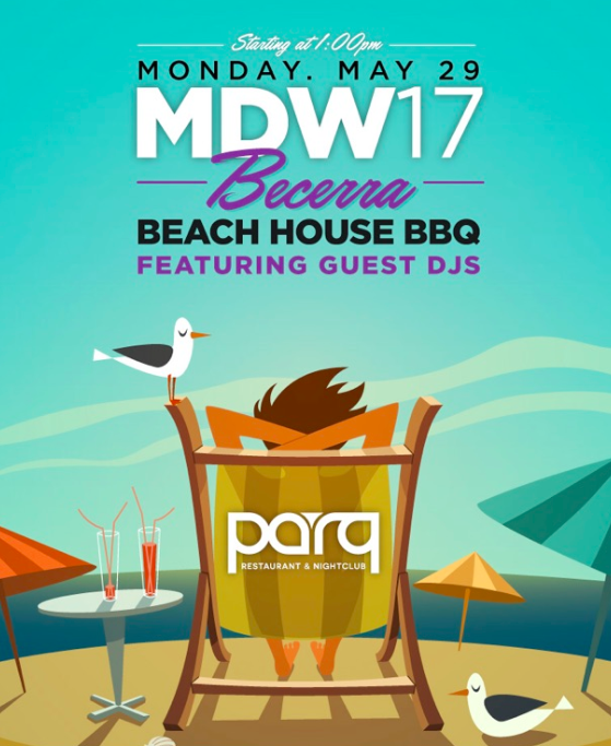The Becerra's Celebrate Their Parq Fam with a MDW Bash