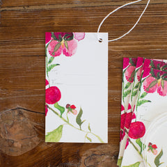 many blooms gift tags, set of 10