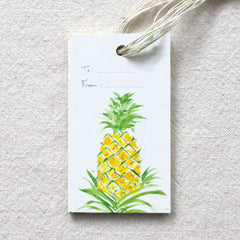 Pineapple Gift Tags, set of 10