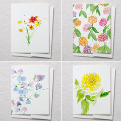 Garden Cards, Set of 8