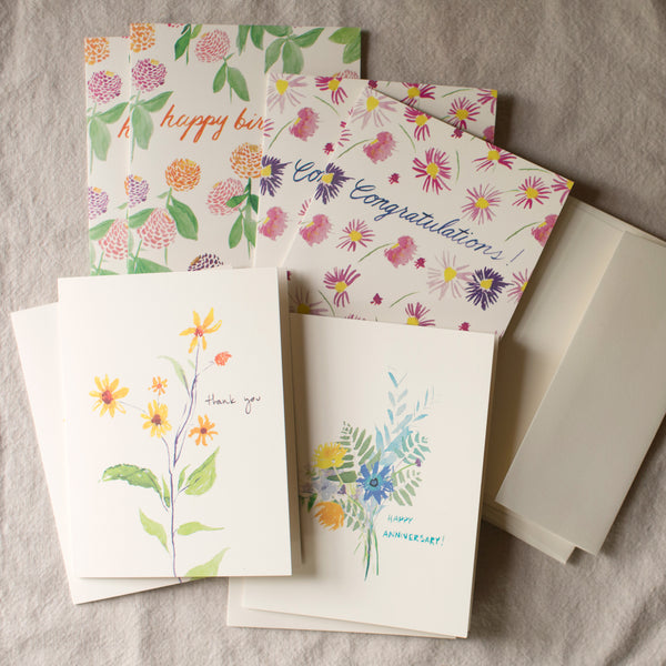 Occasion Cards, set of 8