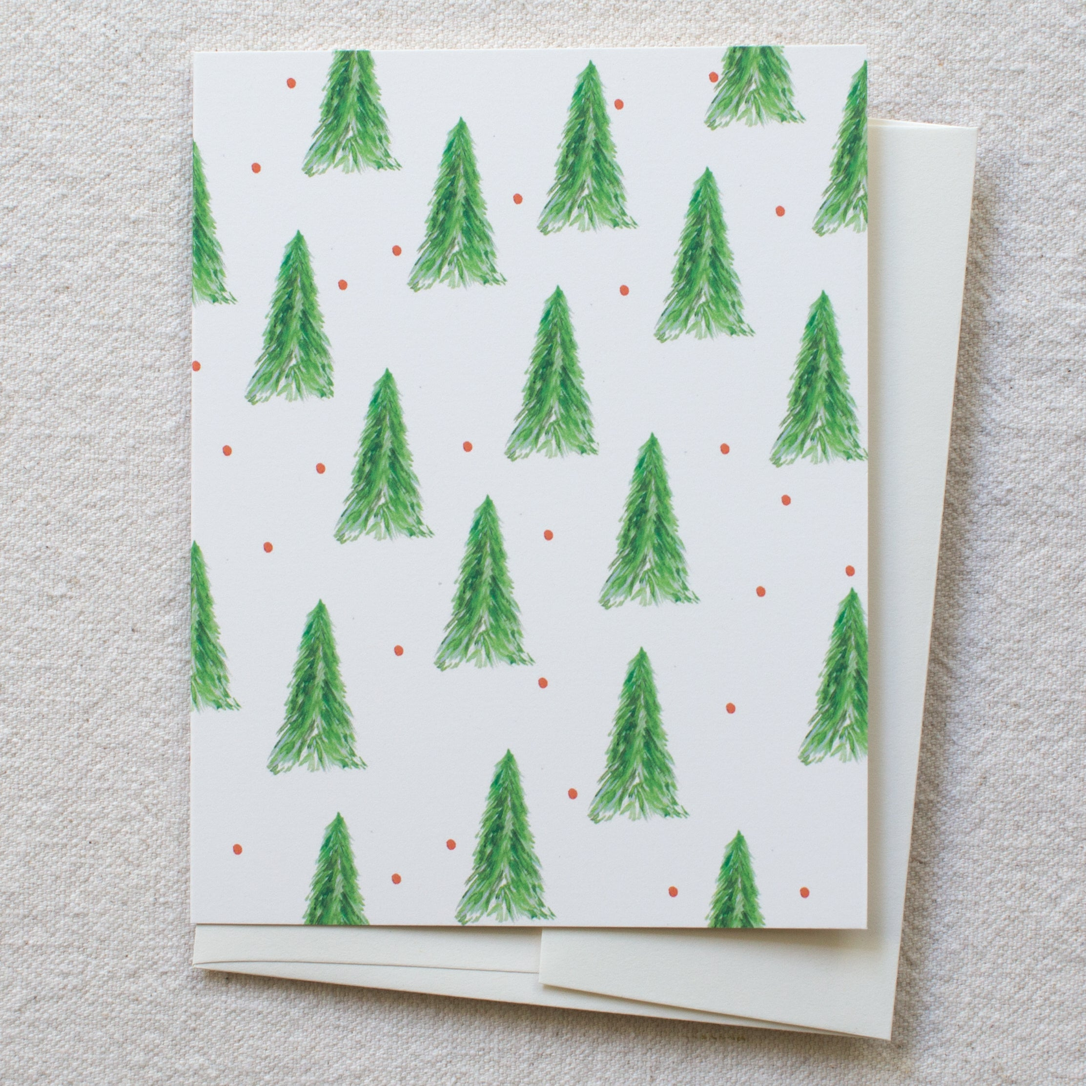 holiday tree pattern