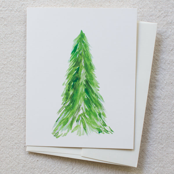 Solo Evergreen Tree