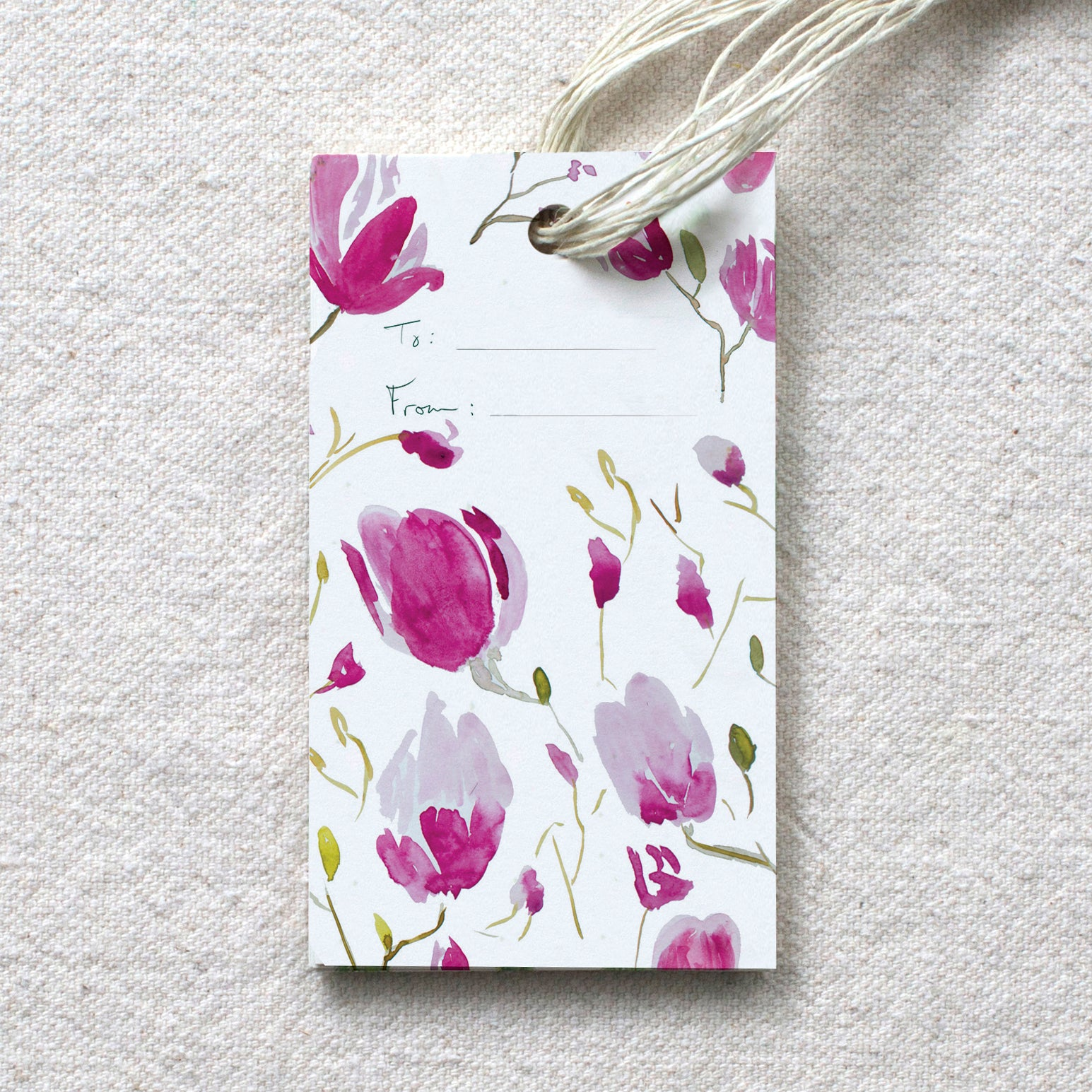 Magnolia Branches Gift Tags, s/10