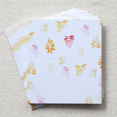 Fern Print Place Cards, set of 24