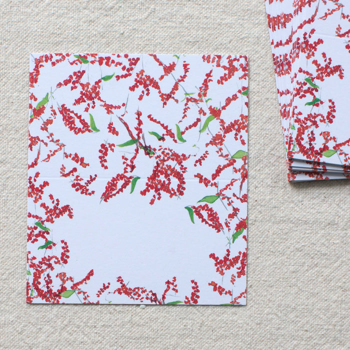 Winterberry Place Cards, Set of 24