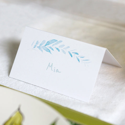 eucalyptus place card set