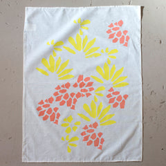 Abstract Floral Tea Towels