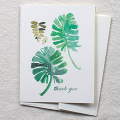 Fern & Monstera, Thank You