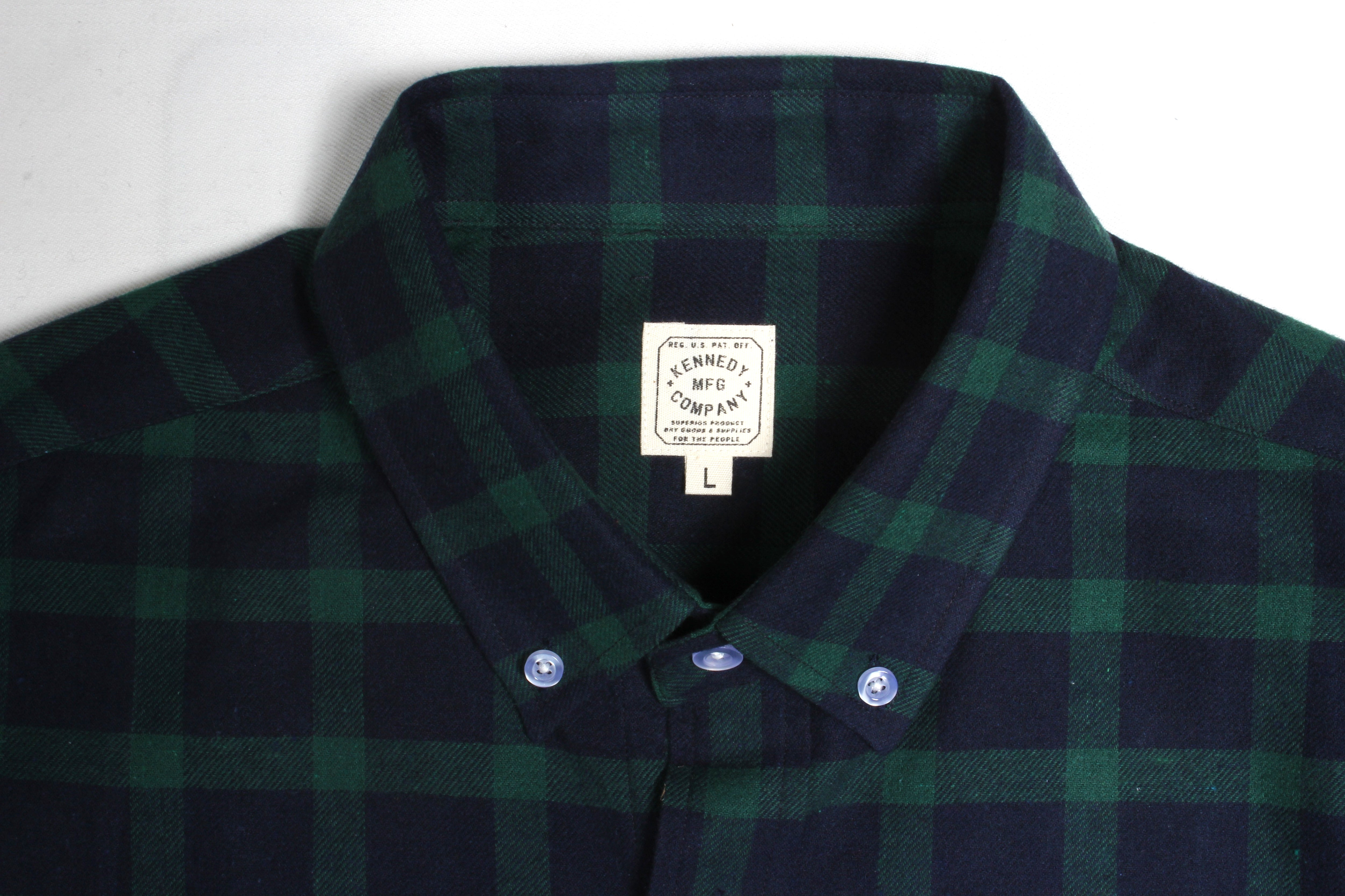 The Chelsea Plaid Button Shirt - Green Navy  94dbbed26f74b